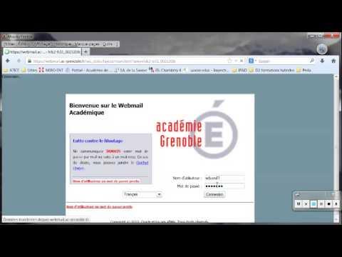 Webmail de l'académie de Grenoble