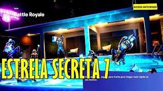 Ubicación secreta estrella en la pantalla de carga 7 Semana 7 temporada 10 Fortnite