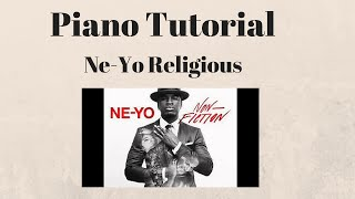 How To Play - Ne-Yo - Religious Piano Tutorial