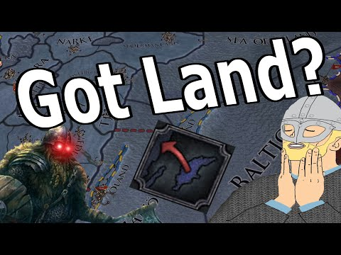 HOW TO TURN ONE ISLAND INTO AN ENTIRE EMPIRE! - CK2 Holy Fury GOTLAND ACHIEVEMENT RUN!