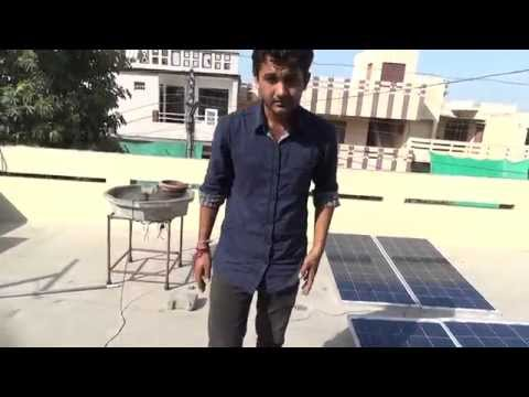 Roof top solar panel installations