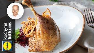 Pečená kachna s pohankovou nádivkou a řepným zelím - Roman Paulus - RECEPTY KUCHYNĚ LIDLU