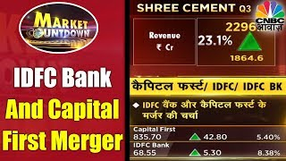 IDFC Bank And Capital First Merger | Which Stocks Are In News? | 12th Jan | CNBC Awaaz