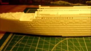 Титаник  Постройка модели Часть 1(Постройка модели., 2015-07-05T09:49:19.000Z)