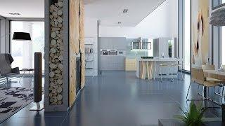 Частный дом. Дизайн в современном стиле. Креативно!(, 2013-11-29T14:06:53.000Z)