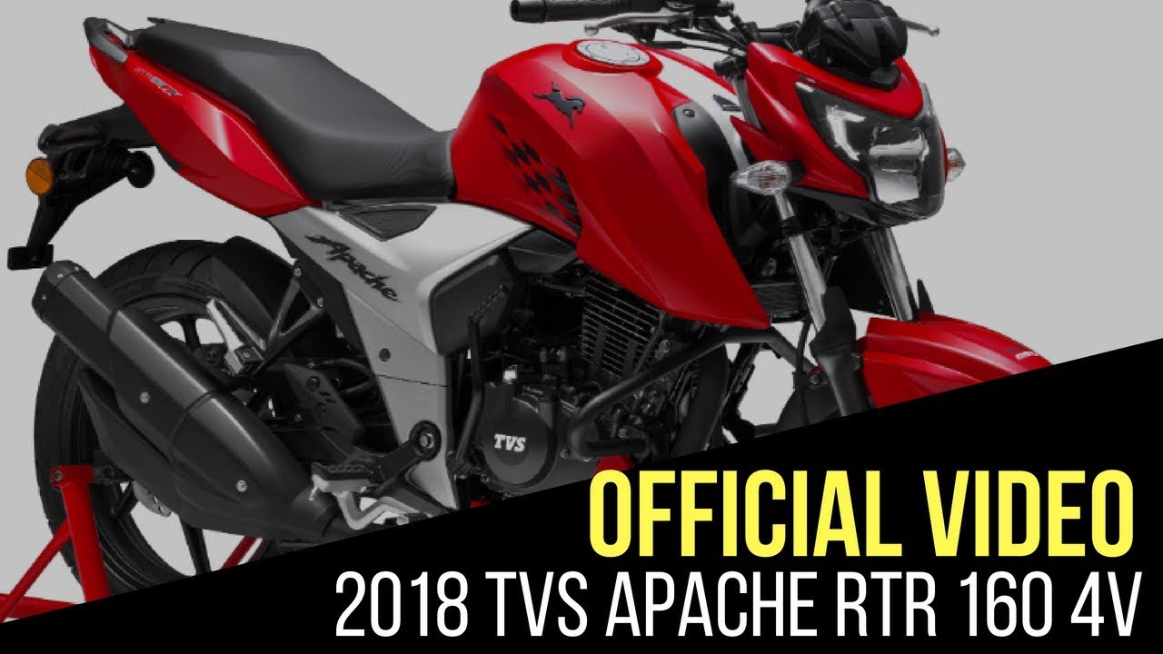 TVS Apache RTR 160 4V: New TVC released