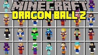 Minecraft DRAGON BALL Z MOD!   GOKU, SUPER SAIYAN, VEGETA, FREEZA, & MORE!   Modded Mini-Game
