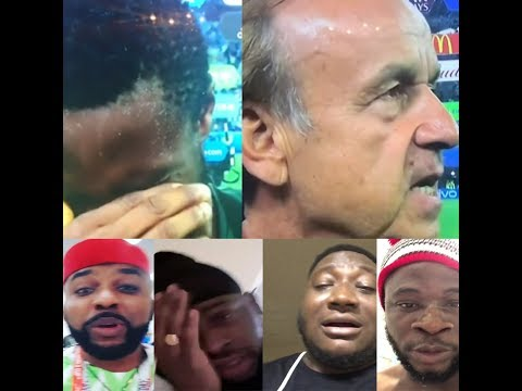 Celebrities in tears as Nigeria looses to...