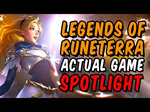 Legends of Runeterra ACTUAL Game Spotlight
