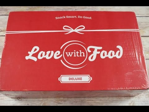 Love with Food Box August 2017 Unboxing + Coupons #lovewithfood