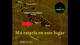 Encuentran el Mapa del Continente perdido de Mu!(Tomo III)