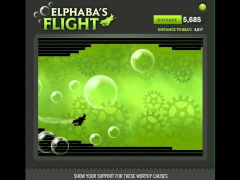 14 Play Elphaba s Flight!   WICKED The Musical