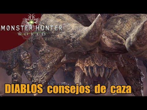 Monster Hunter World | DIABLOS  consejos para enfrentarse a él