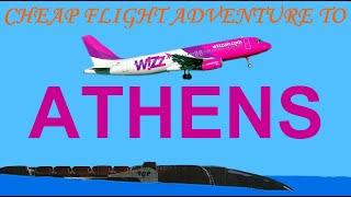 Cheap flight adventure to Athens