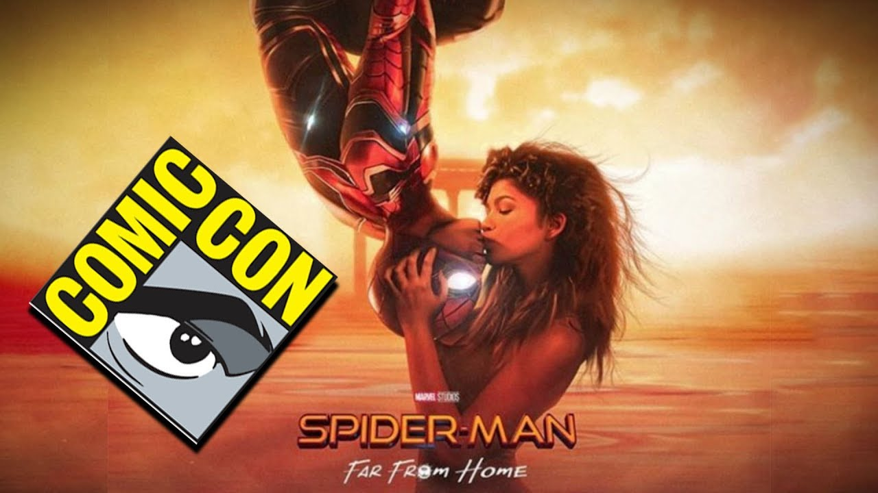 secret ssdc 2018 spider-man far from home sony panel leaked? - youtube