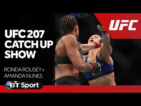 UFC 207 Catch Up Show   Rousey v Nunes  Cruz v Garbrandt New Flash Game