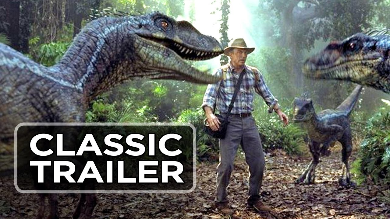Jurassic Park 3 Official Trailer #1 - William H  Macy Movie (2001) HD