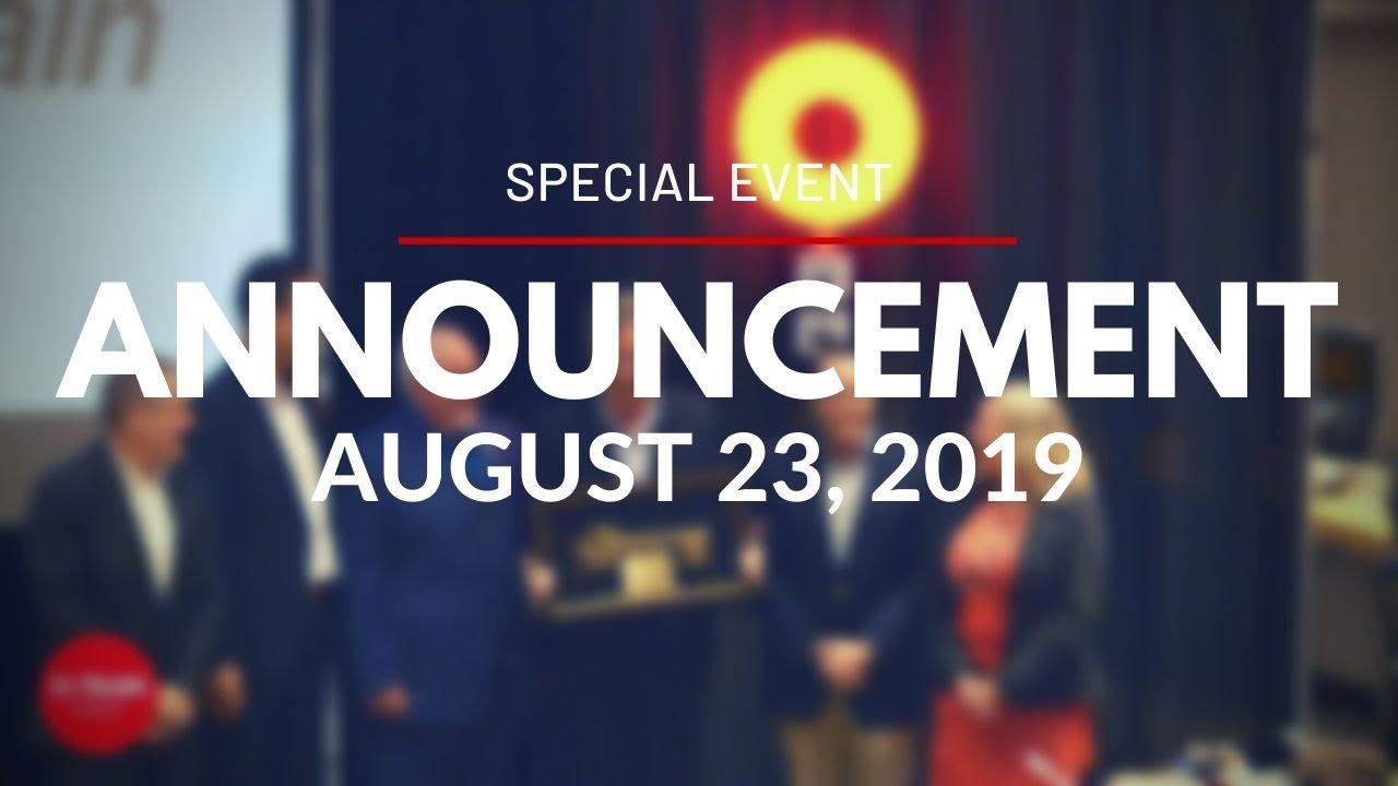 Confederation Line - Announcement - August 23, 2019 / Confederation Line - Annonce - 23 août 2019