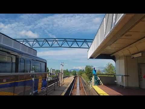 Vancouver SkyTrain: Expo Line Westbound Pt. 2, Metrotown to Commercial - The Complete Ride 4K