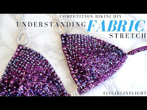 Competition Bikini DIY: Understanding fabric stretch