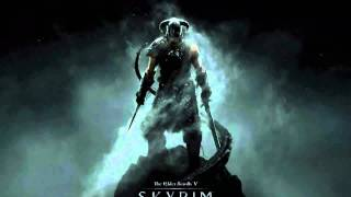 Elder Scrolls V Skyrim:  Main theme (+ lyrics)