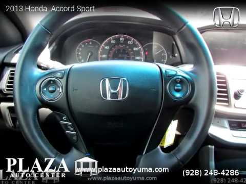 2013 Honda  Accord Sport - Plaza Auto Center