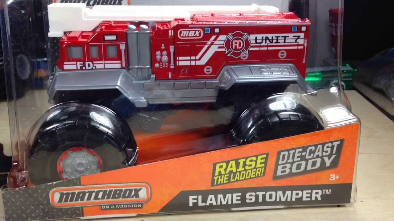 Superior Giant Die Cast Matchbox Flame Thrower Review, LIke Hot Wheels Monster Jam!    YouTube