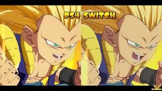 COMPARACIÓN GRÁFICA. DEMO E3 2018 DE DRAGON BALL FIGHTERZ - NINTENDO SWITCH VS PS4