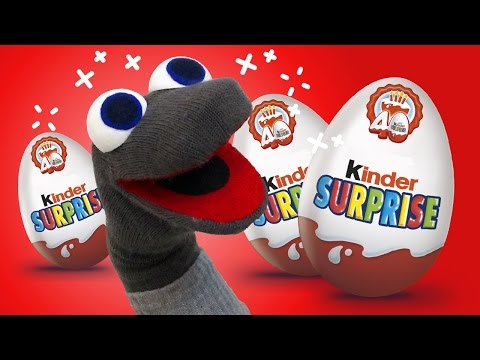 Unboxing Kinder Surprise Eggs | What's in the box with AL | Opening Kinder Eggs for Kids |
