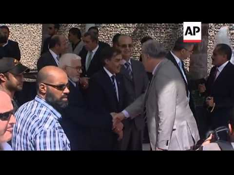Turkish PM Erdogan arrives in Libyan capital