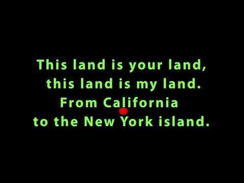 This Land Is Your Land (Latin Beat Karaoke)