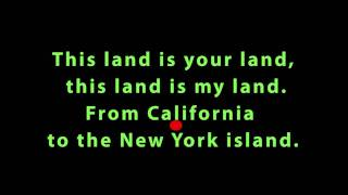 This Land Is Your Land (Latin Beat Karaoke)