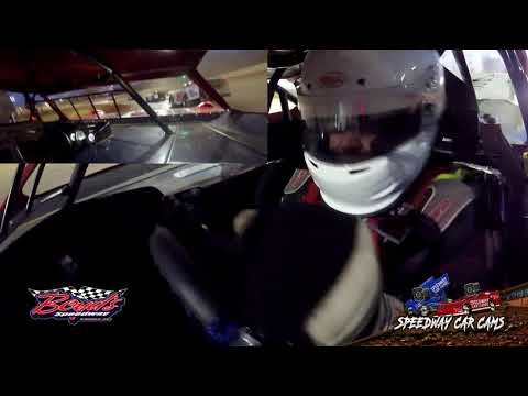 #75 Charlie Ray Howell - Sportsman Heat Race - 2-2-20 Boyds Speedway Cabin Fever - In-Car Camera