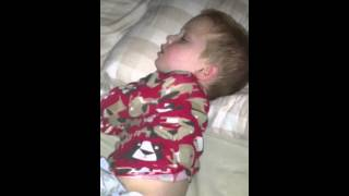 Four year old snoring