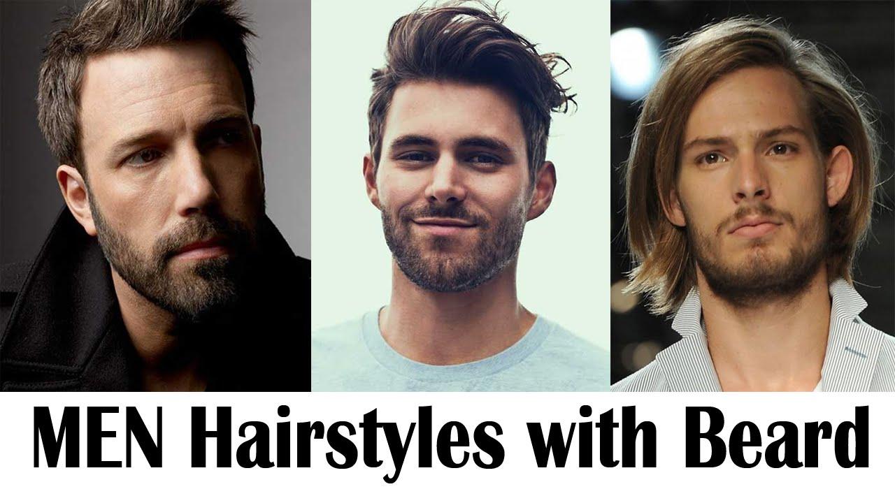 Men Hairstyles with Beard   Idea 2016 - YouTube