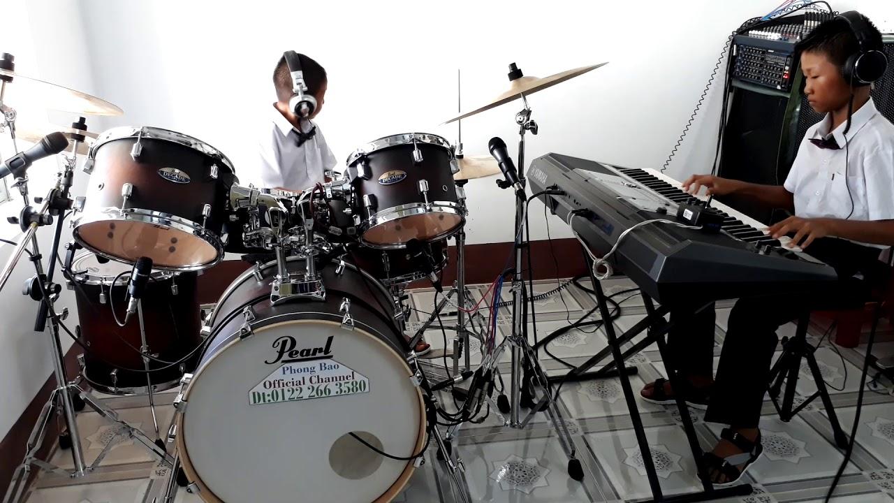 Nối Vòng Tay Lớn [Hòa Tấu + KARAOKE BEAT] - Nhạc sống Phong Bảo