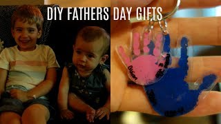 Father's Day Interview | Diy Handprint Keychain Gift For Father's Day
