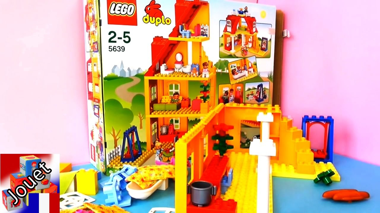 duplo ville maison de famille lego demo partie 1 youtube. Black Bedroom Furniture Sets. Home Design Ideas