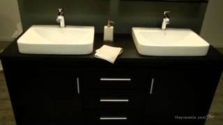 Design Element Washington 71-in. Double Bathroom Vanity Set - Product Review Video