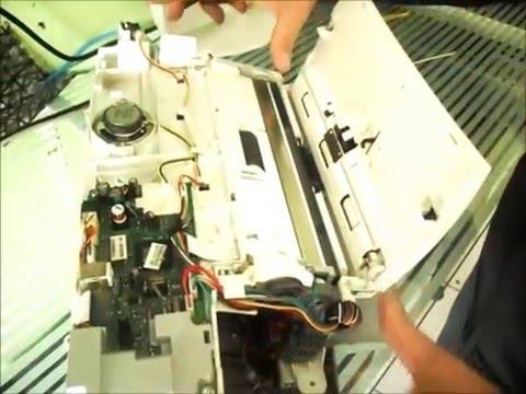 Como Desmontar Impressora HP J4355 Parte 1