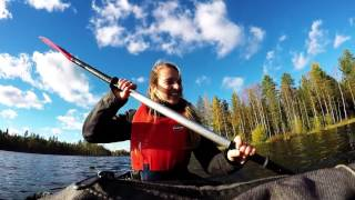 Kayaking in Juva (Mikkeli area)