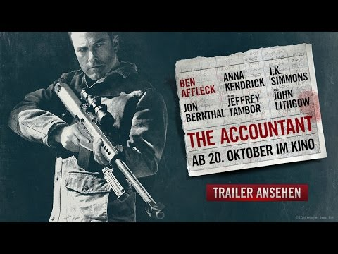 The Accountant - Now Playing TV Spot 1 [HD] clip