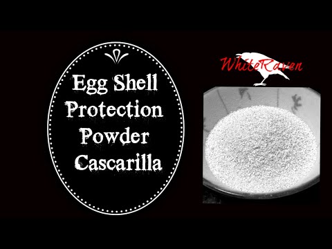 Eggshell protection powder :)