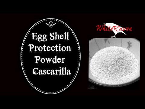Eggshell protection powder :)