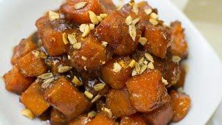 Southern Candy Yams Recipe  - MESHA'S CORNER - Cast Iron Skillet Recipe