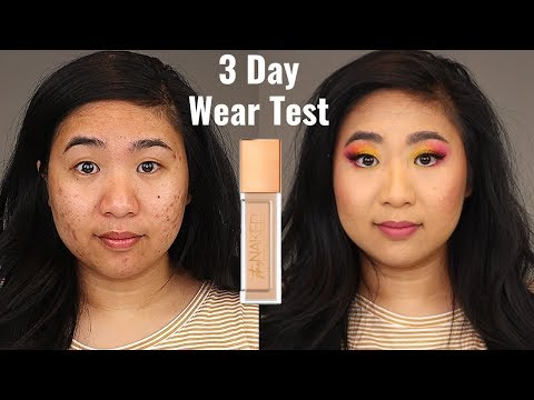 Urban Decay Stay Naked Weightless Foundation For Oily Skin | 3 DAY Wear Test! thumbnail