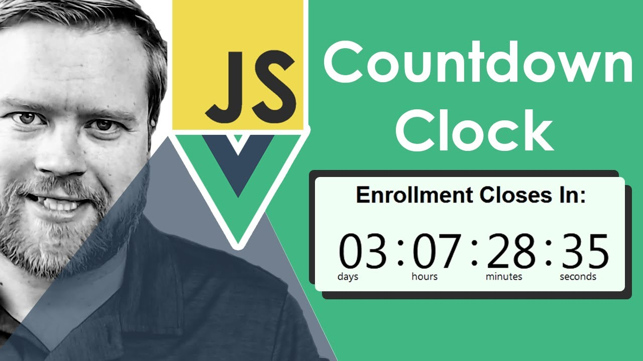 How to Create a Countdown Timer with JavaScript and Vue