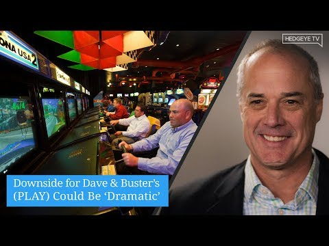 Downside for Dave & Buster's (PLAY) Could Be 'Dramatic'