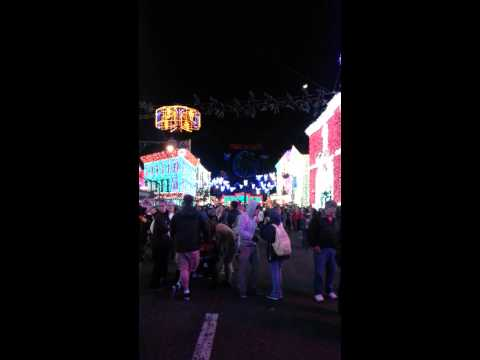 The Osborne Family Spectacle of Dancing Lights at Hollywood Studios