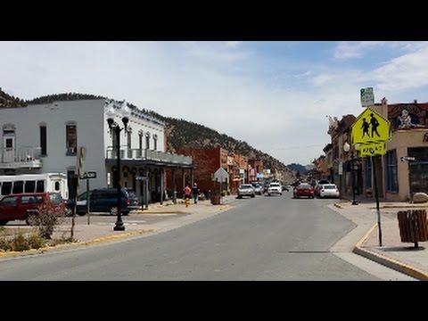 Downtown Idaho Springs Colorado April 2017
